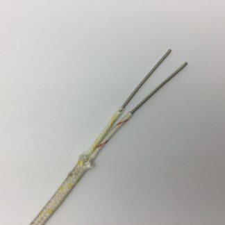 Cable de extensión de termopar tipo JX-FG / FG / SSB-2 × 7 / 0.2mm