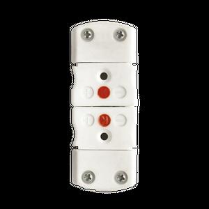 Conector estándar de termopar de cerámica
