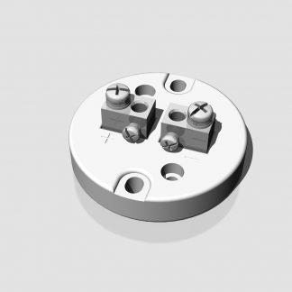 Zócalos de conexión para Cabezales de termocupla KN-DANA-2PC-CUBOID